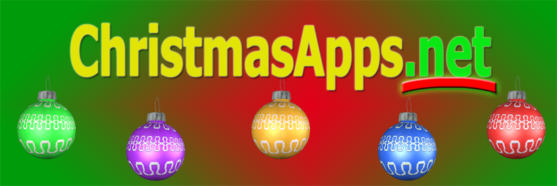 Christmas Apps for iPad and iPhone